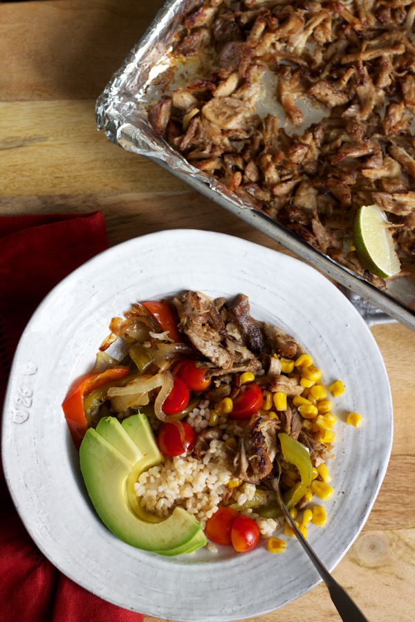 Burrito bowls are the ultimate crowd-pleasing, make-ahead, freezer-friendly party meal!