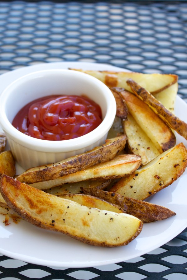 crispy crunchy oven fries