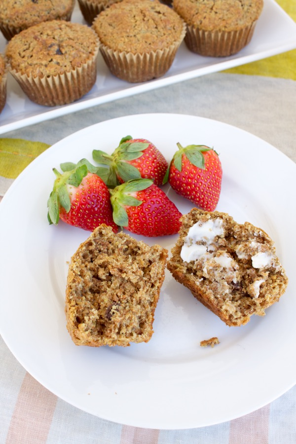 tender yet textured bran muffins for breakfast